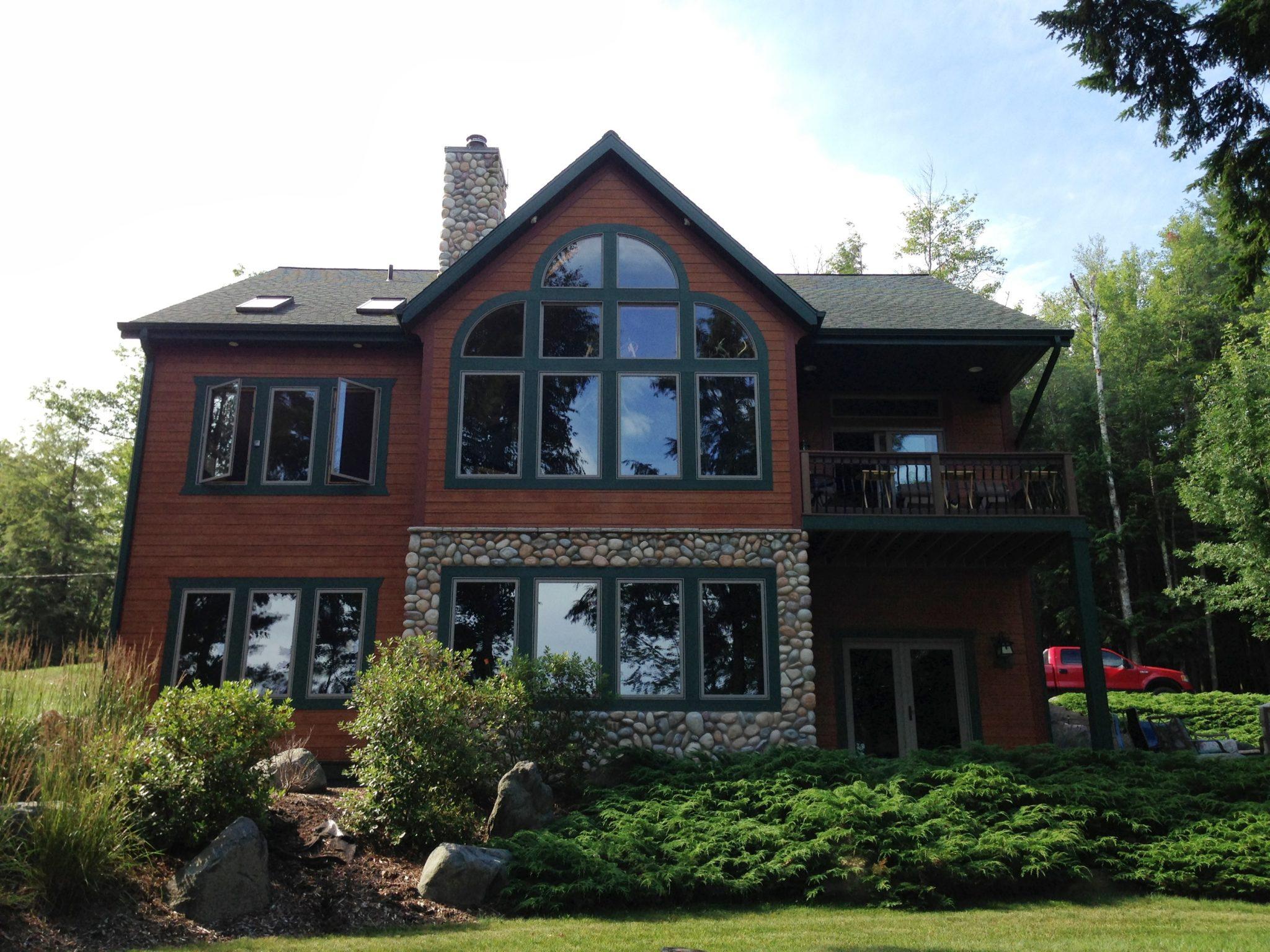 Wisconsin northwoods home builder demlang builders for Www homebuilders com